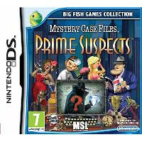 DS MYSTERY CASE FILES PRIME SUSPECTS MIX DS