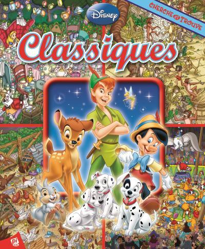 Les indispensables classiques Disney, Cherche et trouve