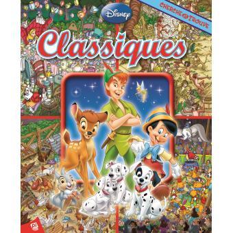 Les Indispensables Classiques Disney Cherche Et Trouve