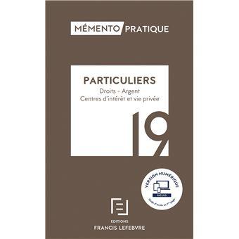 Mémento Particuliers 19
