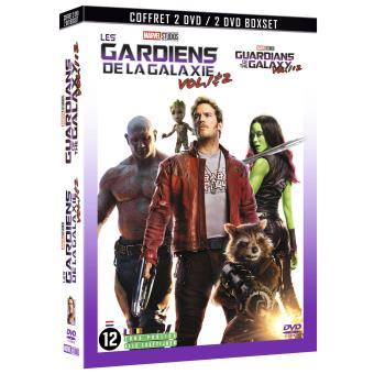 Les Gardiens De La Galaxie Vol 1 2 Coffret Dvd Dvd Zone 2