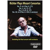 Richter joue Mozart : Concertos pour piano numéros 1, 5, 9, 18