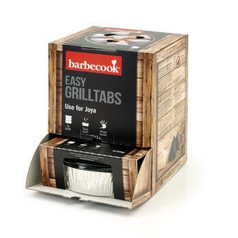 Recharge pour Joya Barbecook Grilltabs 3 coupelles