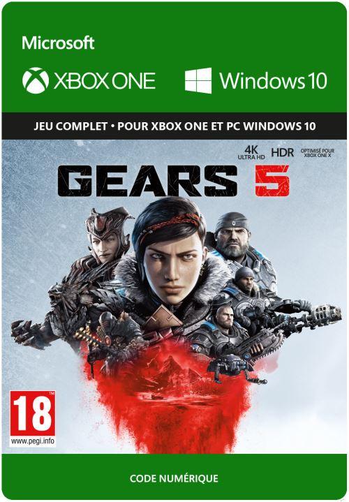 Code de téléchargement Gears 5 Xbox One