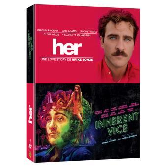 Coffret Joaquin Phoenix 2 films DVD