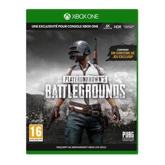 PlayerUnknown's Battlegrounds 1.0 PUBG Xbox One
