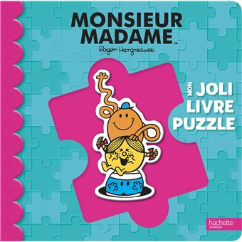 Monsieur MadameMon joli livre puzzle