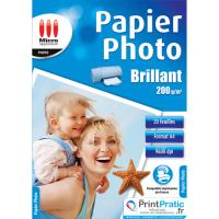 Micro Application glanzend fotopapier A4 - Eco Pack