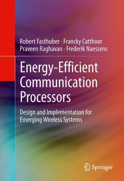 Energy-efficient communication processors
