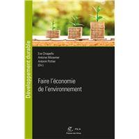 Faire l'économie de l'environnement