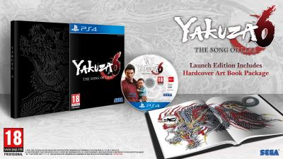 Yakuza 6 : The song of Life Essence of Art Edition PS4