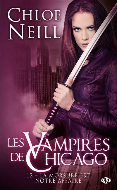 Les Vampires de Chicago, T12 : La Morsure est notre affaire