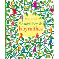 Le maxi-livre de labyrinthes