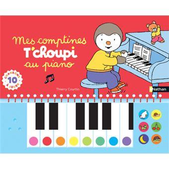T'choupiComptines T'choupi au piano