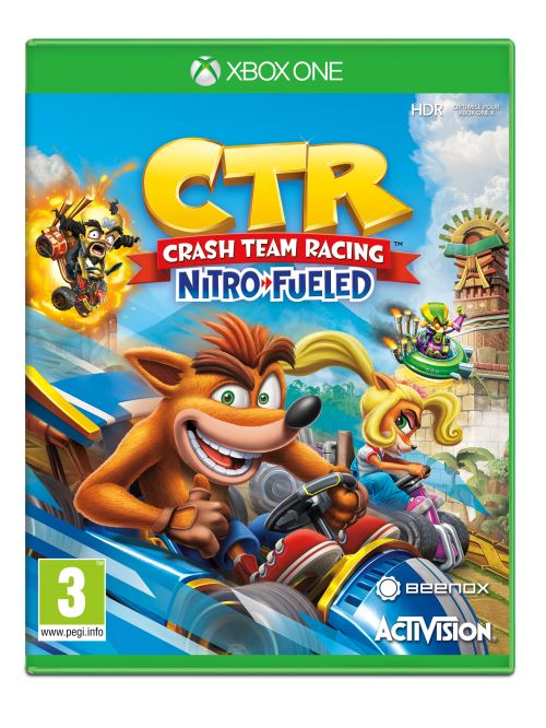 Crash Bandicoot Team Racing Nitro Fueled  Xbox One
