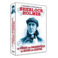 Coffret Les plus célèbres enquêtes de Sherlock Holmes 2 films DVD