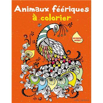 Coloriage Animaux Feeriques.Animaux Feeriques A Colorier