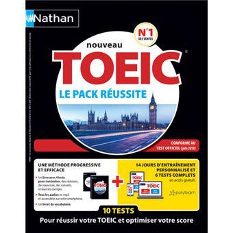 Le pack réussite TOEIC - Livre + Livret + 1 carte avec clé d'activation (VOIE EXPRESS) 2018