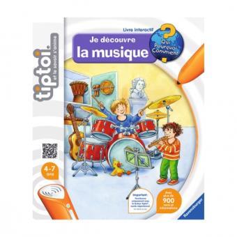 Livre Je Decouvre La Musique Tiptoi Ravensburger