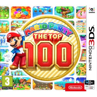 Mario Party The Top 100 3DS