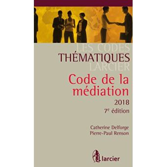 Code thématique - Code de la médiation 2018