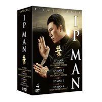 Coffret Ip Man 1 à 4 DVD