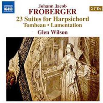 23 SUITES FOR HARPSICHORD/2CD