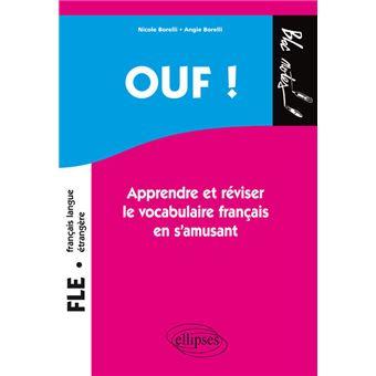 Francais Langue Etrangere Vocabulaire