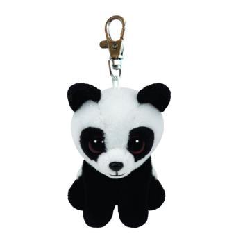 porte cl s peluche baboo le panda beanies ty 8 5 cm peluche autre achat prix fnac. Black Bedroom Furniture Sets. Home Design Ideas