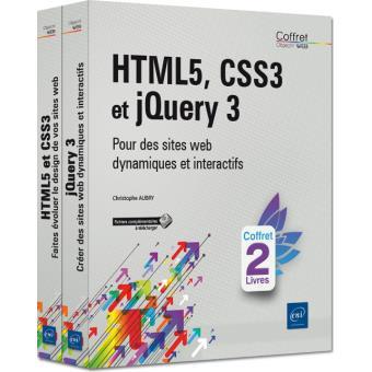 Html5 css3 et jquery 3 pour des sites web dynamiques et inte