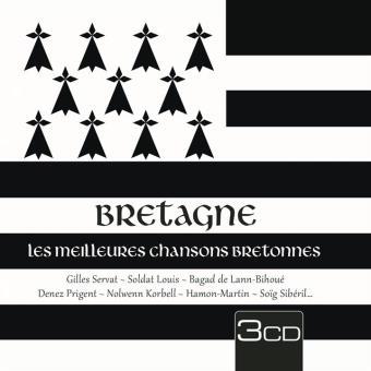 BRETAGNE - LES MEILLEURES CHANTS/3CD