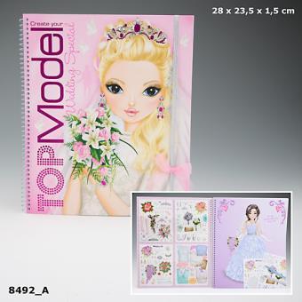 Album de coloriage top model mariage coloriage achat - Album de coloriage top model ...