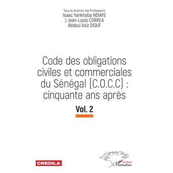 Code des obligations civiles et commerciales du senegal,2