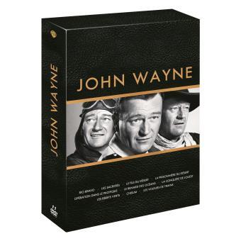 Coffret John Wayne Compact 10 films DVD