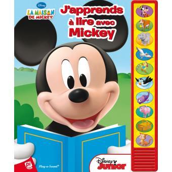 La Maison De Mickey J Apprends A Lire Avec Mickey