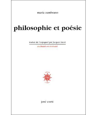 Philosophie et poesie