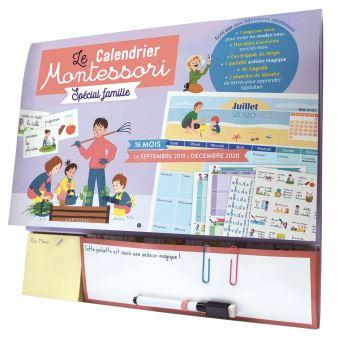 Calendrier Montessori 2021 Calendrier Montessori   Collectif   Achat Livre | fnac