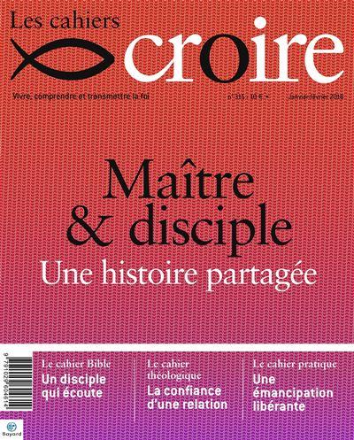 Cahiers Croire - janvier 2018