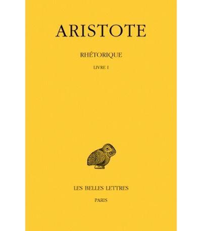 Rhetorique,1:livre 1