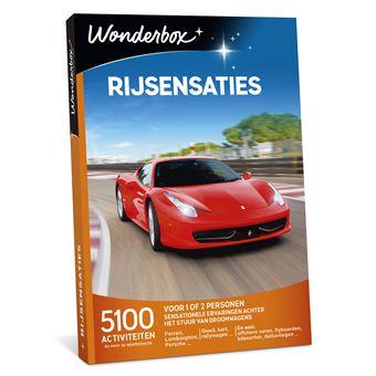 Wonderbox NL Rijsensaties