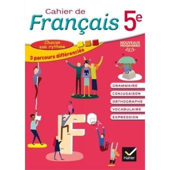 Cahier De Francais 5e Ed 2016 Cahier De L Eleve
