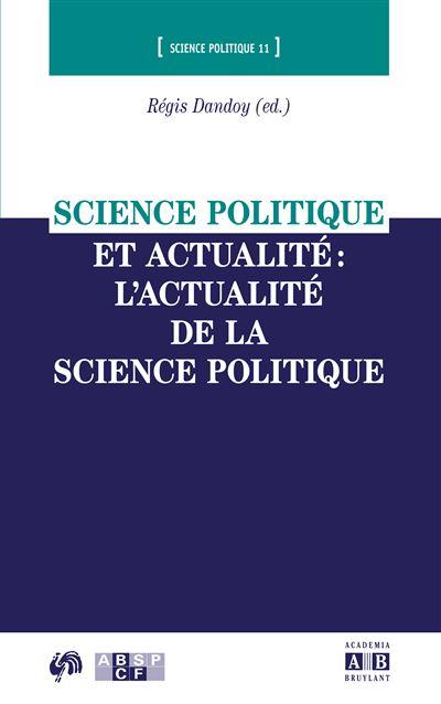 Science politique et actualité