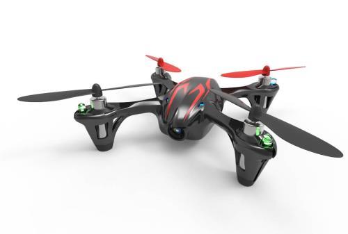 Mini Quadrocopter Hubsan X4 pour intérieur et extérieur, Peut atteindre environ 100 mètres de hauteur