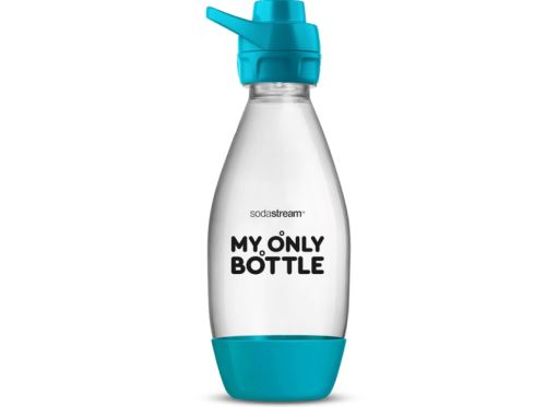 SODASTREAM CARB BOT 1/2L MY ONLY SPORT TURQUOISE ST FUSE DW
