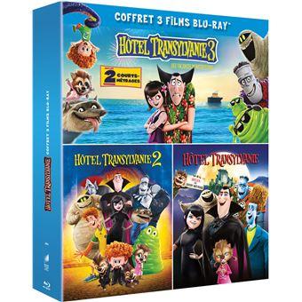 Hôtel TransylvanieHôtel Transylvanie 3 films Coffret Blu-ray