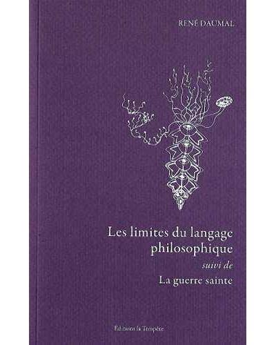 Les limites du langage philosophique