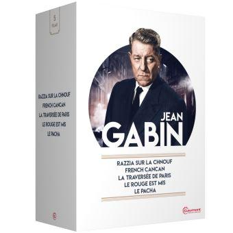 Coffret Jean Gabin 5 Films DVD