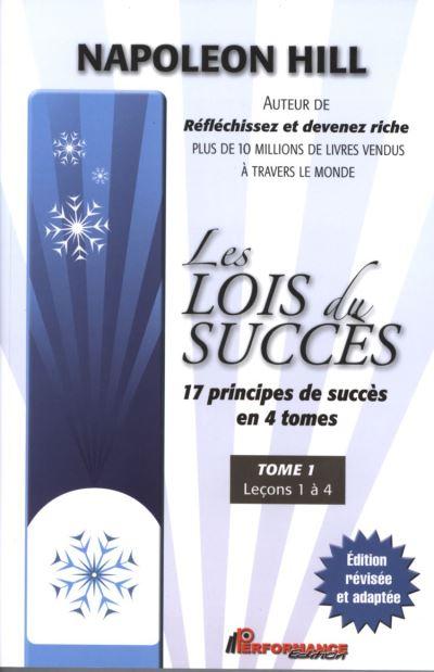 Les lois du succès 1 : Leçons 1 à 4 - 9782923746845 - 11,99 €