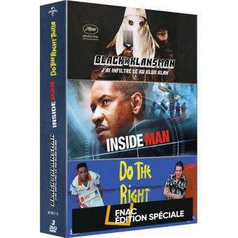 Coffret Spike Lee 3 Films Edition Spéciale Fnac DVD