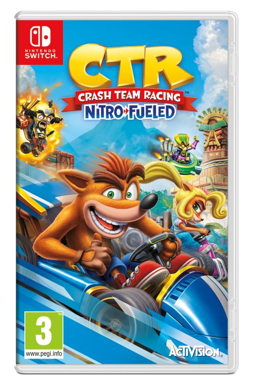 Crash Bandicoot Team Racing Nitro Fueled Nintendo Switch